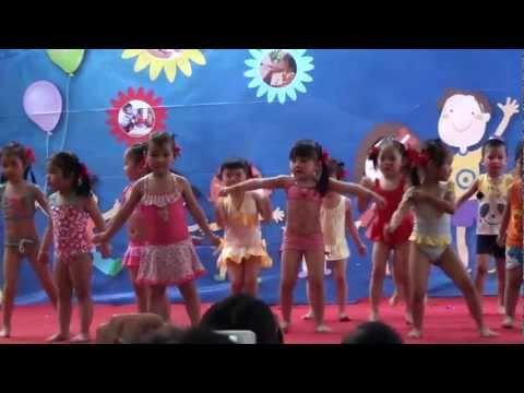 Aerobic: Trời nắng, trời mưa - Mầm non Việt Pháp