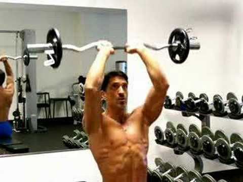 Bodybuilding Exercises - Trouncing Your Triceps! Part 1 Image 1