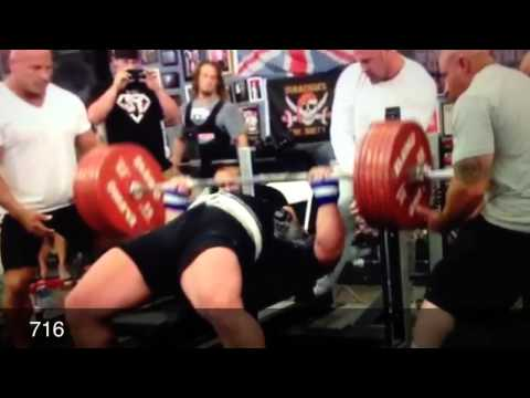 Biggest Bench Ever Eric Spoto, Mark Bell, Dan Green