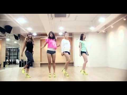 SISTAR Loving U Choreography Practice ver        YouTube