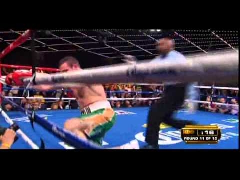 Sergio Martinez vs Matthew Macklin 4/4