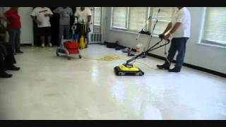How To Strip Floors With BrushesNOT PADS!