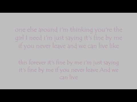 Andy Grammer -Fine By Me Lyrics