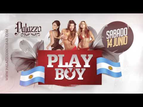 Desde Argentina LAS CONEJITAS DE PLAYBOY 14/06/14 - PALAZZO DISCO BAR