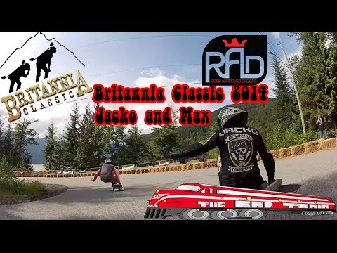 Rad Crew Rad Train Raw Run Britannia Classic 2014 with Jacko and MAx - Rad Train