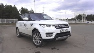 2016 Land Rover Range Rover Sport HSE. Start Up, Engine, and In Depth Tour.. MegaRetr