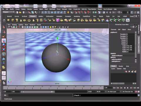 mia materiel x passes Mental Ray Maya Tutorial