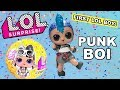 FIRST LOOK LOL Surprise Punk Boi Big Brother Confetti Pop Series 3 Wave 2 Boy Tot