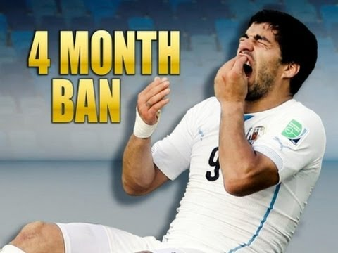 FIFA Bans Suarez for Biting Opponent