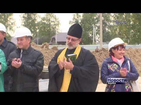 На микрорайоне Южном прошла церемония освящения строительства стен нового детского сада