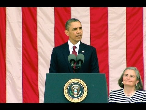 President Obama Commemorates Memorial Day at Arling