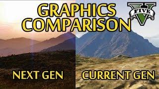GTA 5 Next Gen VS Current Gen Graphics Comparison (GTA V