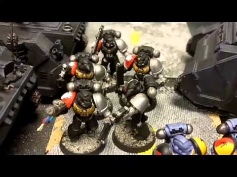 KFG 40K Ultramarines vs Blood Angels Battle Report Portland
