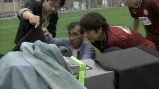 初代ブレ玉フリーキック、三浦淳宏の放つシュートの軌道を解説