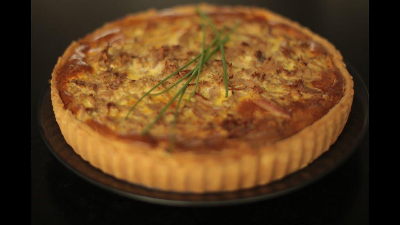 recette de la tarte au thon poivron et herbes par herv 233 cuisine