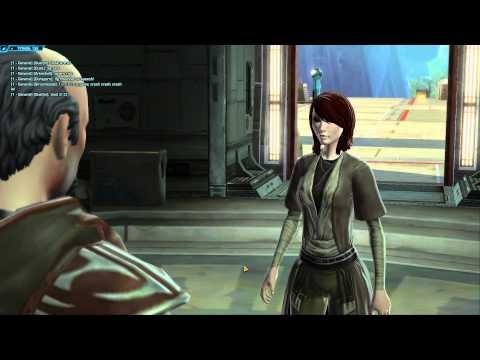Star Wars The Old Republic - Republic Gameplay - Jedi Consular - Part 1