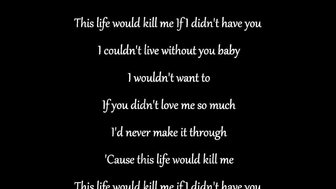 If I Didn't Have You Thompson Square Lyrics - YouTube