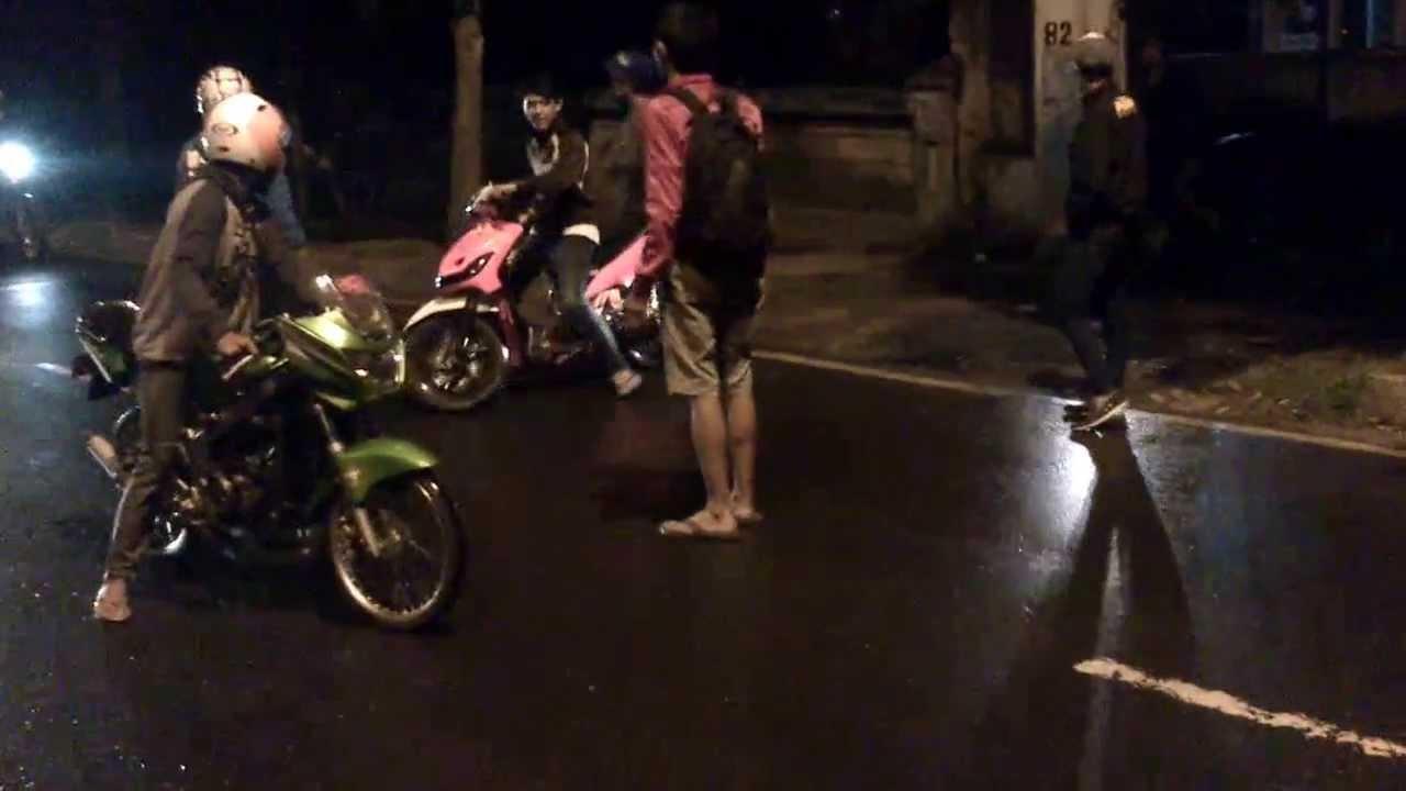 Drag Bike Liar Soreang Ninja 155cc vs Mio FFA 200cc - YouTube