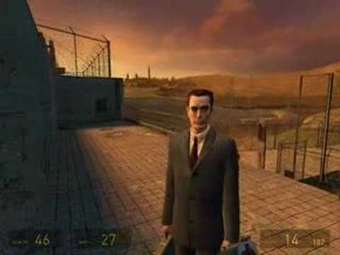 Half-Life 2 Пасхалки Про G-Man`а