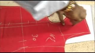 How To Cut Bridal Salwar Kameez/Simple Way Of Shalwar