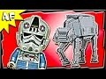 AT-AT 75054 Lego Star Wars Stop Motion Set Review