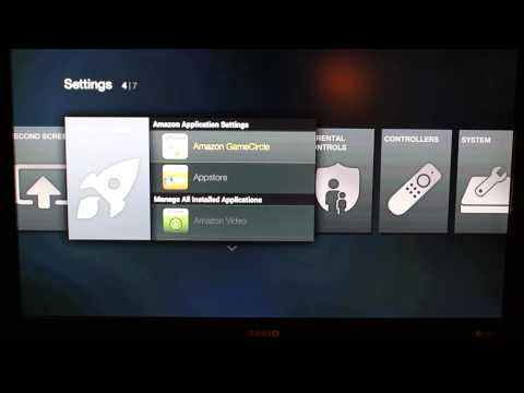 Amazon Fire TV Side Loading Apps with adb over your network