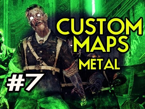Custom Nazi Zombies Maps: Metal w/ Kootra Ep.7 - MOAR SNIPER GOODNESS