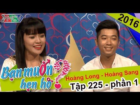 Bất ngờ vì anh chàng vụt mất cơ hội hẹn hò cùng cô gái xinh đẹp | Hoàng Long - Hoàng Sang | BMHH 225