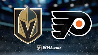 Fleury earns 400th win as Golden Knights edge Flyers