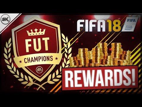 GOLD 3 FUT CHAMPIONS REWARDS - FIFA 18 PACK OPENING