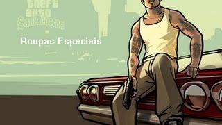 GTA San Andreas Todas As Roupas Especiais