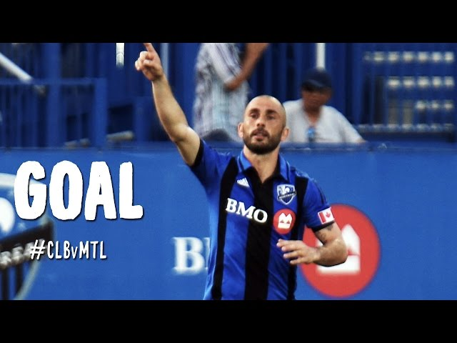 GOAL: Marco Di Vaio pounds in a goal after some quality footwork