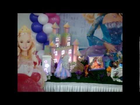 Barbie Decoração Mesa Tema Infantil Festas - Arte e Magia