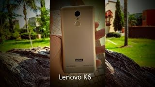 Video Lenovo K6 0LGWmF2bTPw