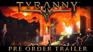 Tyranny - Release Date Reveal Trailer