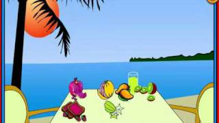 Fruit Stand, Fruit Song for kids