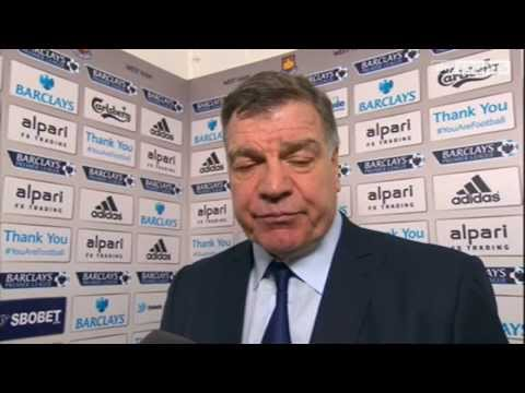 Sam Allardyce Post Match Press Conference after West Ham United 1 Newcastle 3