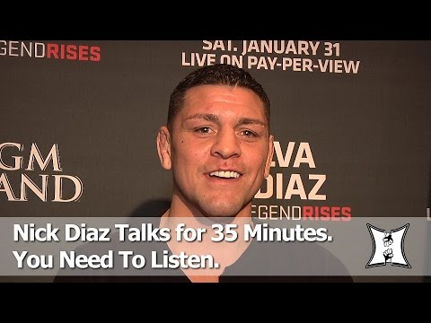 Win Or Lose, Nick Diaz Says He Expects An A** Whupping From Anderson Silva At UFC 183