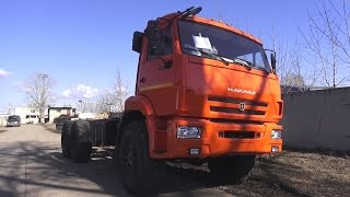 2017 KAMAZ-43118. Start Up, Engine, and In Depth Tour.. MegaRetr