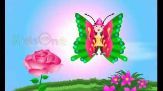 English Poems kids rhymes Butterfly