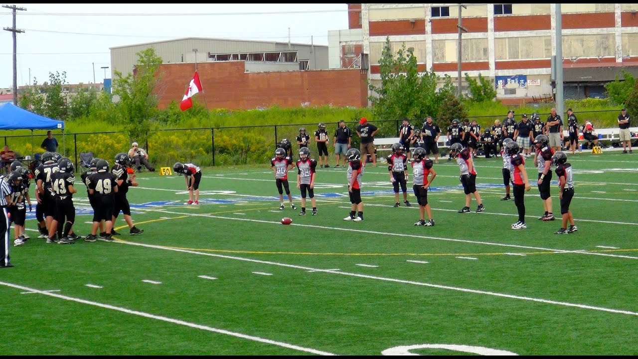 2011-10-10 - PeeWee Football Game - Raiders v Langley
