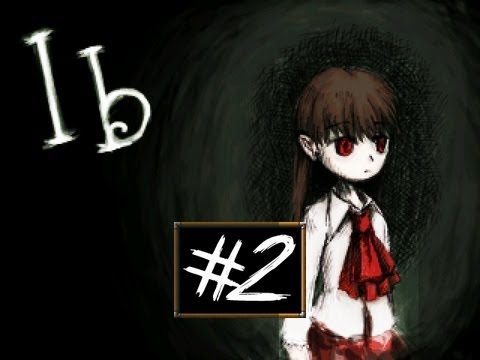 Ib - Part 2 | FLOWERS FOR EVERYONE | RPG Maker Horror Game | Gameplay/Commentary/Face cam reaction