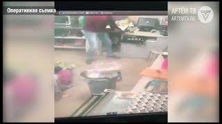 В Артёме задержан подозреваемый в грабеже павильона быстрого питания