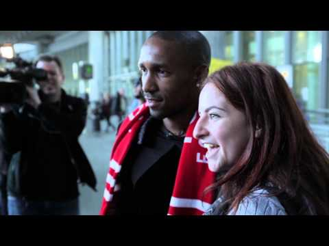 Jermain Defoe Arrives In Toronto - #AllForOne Teaser