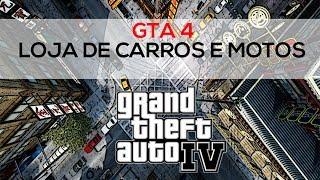 GTA IV Loja De Motos Loja De Carros. Xbox 360
