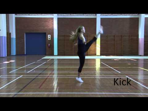 SA Gymnastics Aerobic Basic Step Routine