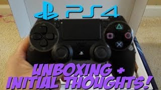PS4 Unboxing & Initial Thoughts on Playstation 4!