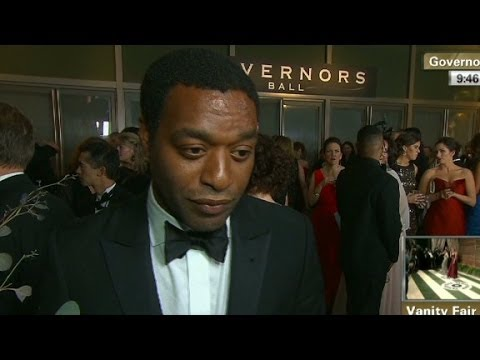 Chiwetel Ejiofor: We bonded over drinks