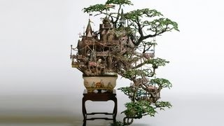 Japanese Bonsai that looks like a theme park and makes you feel like living there