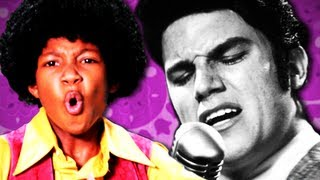 Michael Jackson VS Elvis Presley. Epic Rap Battles Of